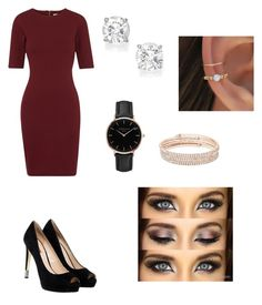 """Sans titre #166"" by melissandre-2000 on Polyvore featuring mode, Whistles, GUESS, Topshop et Anne Klein"