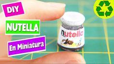 DIY Botella de Nutella en miniatura - facilisimo