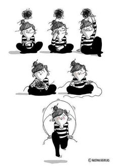 Linda imagem do processo terapeutico!
