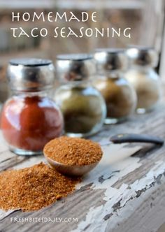 Flavor your tacos, salads, and sauces with this homemade taco seasoning