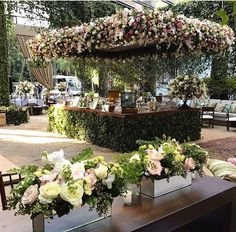42 ideas for wedding garden white receptions Outdoor Wedding Reception, Wedding Reception Decorations, Wedding Themes, Wedding Bells, Wedding Designs, Wedding Venues, Garden Wedding, Dream Wedding, Floral Wedding