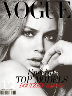 VOGUE PARIS; SPECIAL TOP MODELS