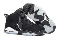 53accac4b01 Nike Air Jordan 6 VI Mens Shoes Black White Cheap Jordan Shoes