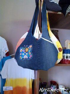 Textil lányka táska