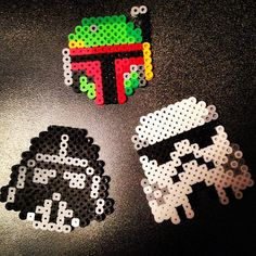 Star Wars perler beads by crystalclou