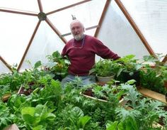 Build a Geodesic Dome Solar Greenhouse to Grow Your Own Food