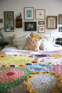 . . .why not make a quilt from them! is creative inspiration for us. Get more photo about diy home decor related with by looking at photos gallery at the bottom of this page. We are want to say thanks if you like to share this post to another people …