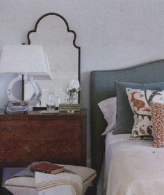Traditional Home, page 88 Kravet, Velvet Pillow  E25501