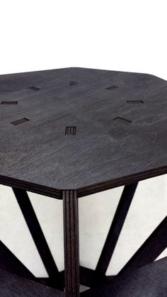 Diamond Shaped Side Table Small Table Laser Cut Plywood Table | Stains,  Other And Flats