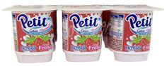 Hacendado Petit fresa Pack 6 x 60 g - 360 g Fanta Can, Coffee Cans, Beverages, Canning, Food, Yogurt, Desserts, Recipes, Foods