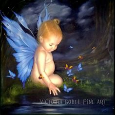 Blue Fairy by Victoria Gobel