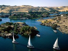 Aswan Egypt (Cairo, and Luxor too) Nile River Cruise Egypt Travel, Africa Travel, Uganda, Egypt Wallpaper, Places Around The World, Around The Worlds, Nile River Cruise, Nature Sauvage, Ponds