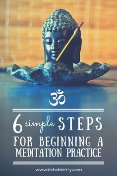 Meditation is quickly becoming more mainstream, and the benefits are proven. Here are 6 simple ways to begin your own meditation practice. Bonus: My favorite apps for meditation!