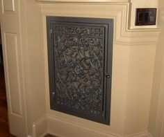 Decorative Iron Return Air Grills - Before and After Photos – FancyVents - Decorative Vents