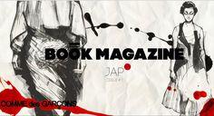 BOOK MAGAZINE NO.1 JAP / COVER #bookmagazine #japan #fashion #illustration #cover