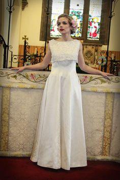 A Vintage Dress. Simple. Beautiful.
