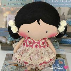 This cuteness will know your new home in Goiás @leticia_gmv is anxious and full of love to receive the new member gives family ❤ #tilda #tildinha #tildatoy #bonidadepano #tildatoys #feitocomamor #feitocomcarinho # momedemenina #caridez #coisasdemenina #maternidade # Cute # baby # decoration #doll #dolls #tildaworld #costurinhas #princesas #newborn #atelie #artesanato #recennascido #futuramamae #tonefinnanger #vestidodeboneca