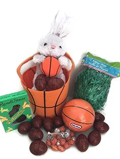 Basketball Themed Easter Basket with Grass, Ball, Bunny, 12 plastic eggs, Sports Ball Chocolates, and Chocolate Bunny Miscellanous http://www.amazon.com/dp/B01CH6QWHY/ref=cm_sw_r_pi_dp_r.c4wb0MA421M