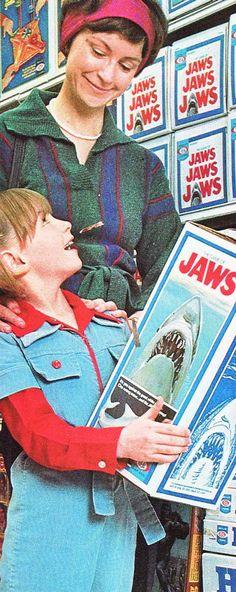 """""""Mommy, please buy me a killer shark for my birthday!"""""""