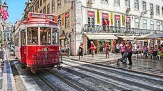 LISBONA - Electrico Red Line (HDR) (Portogallo)