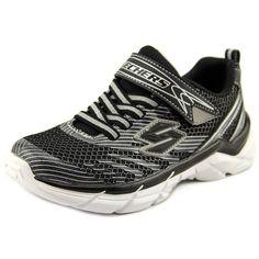 Skechers Rive Athletic Shoes Sneakers Boys Size 3 Black Silver 95240 95240L #Skechers #AthleticShoes #sneakers