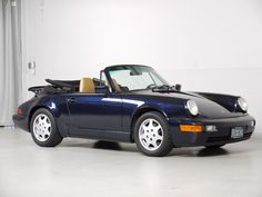 1991 Porsche 911 Carrera 4 Cabriolet 5-Speed | Bring a Trailer