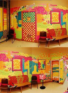 Post-it art!