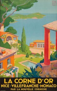 Corne d'Or. 1930  ROGER BRODERS (1883-1953)