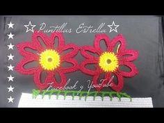 puntilla de alcatraz sencillo - YouTube Knitting Videos, Crochet Videos, Ely, Prado, Crochet Designs, Crochet Flowers, Facebook, Youtube, Citrus Fruits
