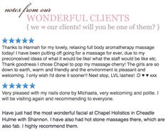 More lovely reviews this week we are always so humbled to receive such fabulous feedback our clients are our foundation we love you all :) x x x