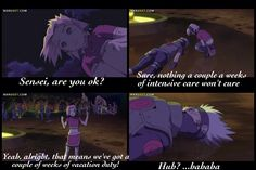 "<3 Kakashi & Sakura - from movie: ""Naruto The Movie: Gaurdians of the Crescent Moon Kingdom"""