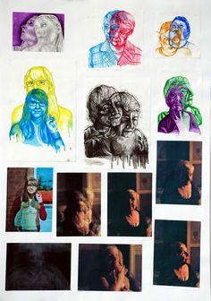 CAPI - Art Portfolio Ideas - Taking a Concept and Exploring its Artful Edges -  art-a-level-sketchbook