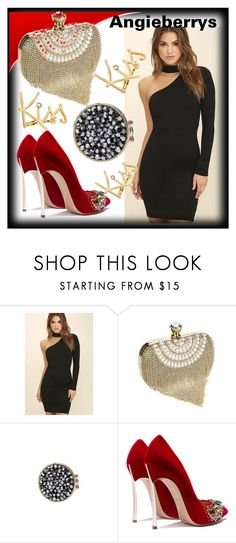 """""""ANGIEBERRYS #8"""" by nizaba-haskic ❤ liked on Polyvore featuring LULUS and Lanvin"""