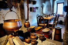 Medieval kitchen - inside the Blue Boar Inn?