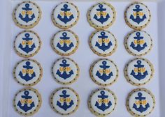 US Navy cookies via Cupcake Adventures