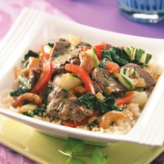 Cashew Curried Beef Recipe