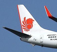 Lion Air B-737 tail