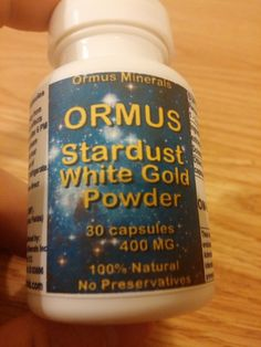 ormus white powder gold MONATOMIC GOLD 30 Count