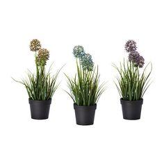 FEJKA Artificial potted plant - IKEA $6
