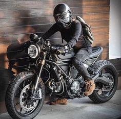 Ducati Scrambler Cafe Racer #motorcycles #caferacer #motos   caferacerpasion.com