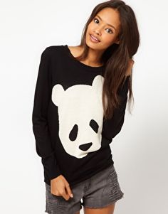 ASOS | ASOS Panda Jumper at ASOS