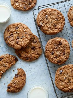 Salted, Browned Butter, Chocolate, and Toffee Chip Cookies