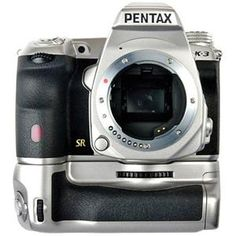 NEW RELEASE! Pentax K-3 Silver Limited Edition DSLR