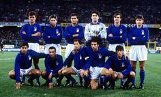 Italy, 1992. What a team!