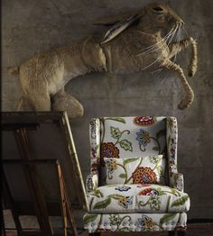 Zapote Fabric by Andrew Martin | Jane Clayton