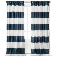 Bold Curtain Panel - Threshold™ : Target ($24) ❤ liked on Polyvore featuring home, home decor, window treatments, curtains, target window coverings, target home decor, target window treatments, target window panels and target curtains