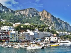 Capri, Italy -- vacationed here in the summer of 2011 . tied for my favorite place in Italy Need A Vacation, Italy Vacation, Italy Travel, Things To Do In Italy, Places In Italy, Life Is A Journey, Way Of Life, Beautiful World, Beautiful Places