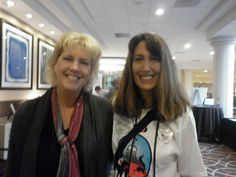 Ma and @LisaTaron (Petbloglady)