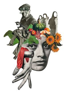 Rebeka Elizegi's Handcrafted Collages Explore Femininity