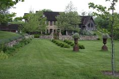Big house with a huge yard.  <3 love the giant yard <3